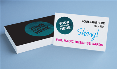 Foil Magic Business Cards