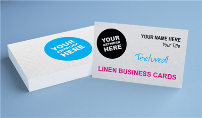 Linen Business Cards - Offset