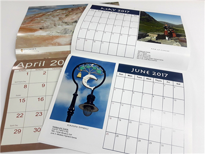 Calendar - Saddle Stitched