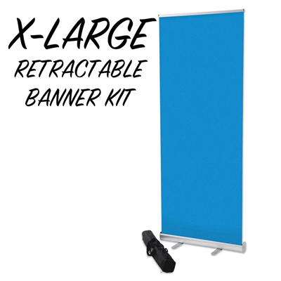 Retractable Banner - X-Large