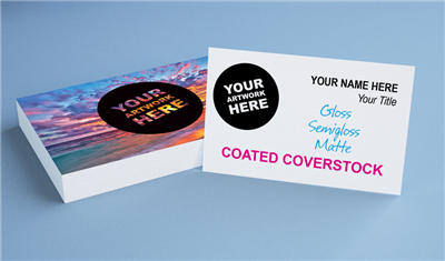 Standard Coated Business Cards