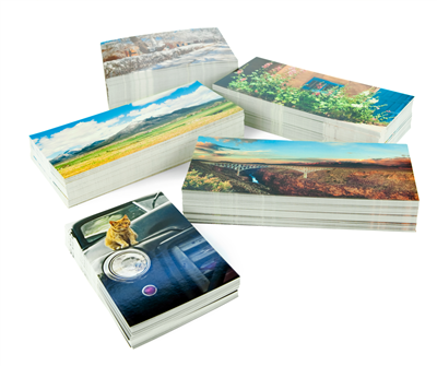 Postcards (Low Quantities or Fast Turn)